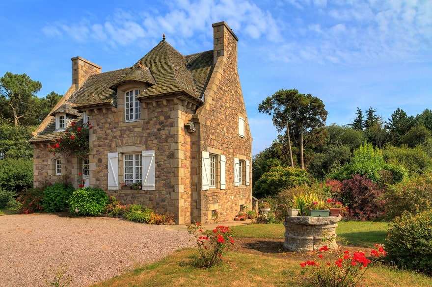 Moving to France - traditional French country house in Brittany, France